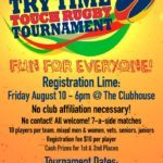 Try Time Touch Rugby Flyer ART 01