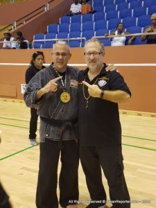 Tony Morrash  Grand champion point sparring  Division age 60 and over Country: USA - World Karate Union