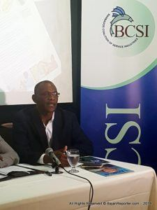 This was noted by Executive Director of the Barbados Coalition of Service Industries, Graham Clarke, who addressed stakeholders, invitees and the press at the Mount Gay Visitor Centre last night for launching the BCSI's Services Weekend next month.