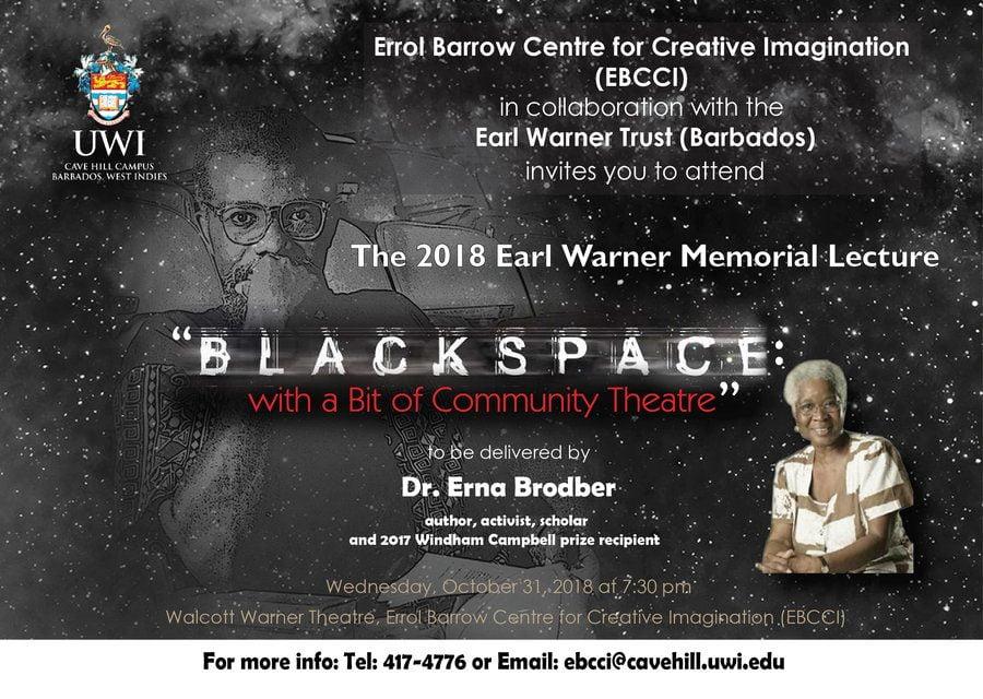 Earl Warner Memorial Lecture