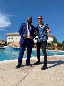 "Stephens and Marsden shot the video for ""Leggo"" on October 16th at an undisclosed location in Jamaica."