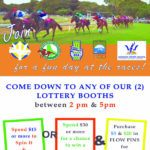 Barbados Lottery Raceday Poster2