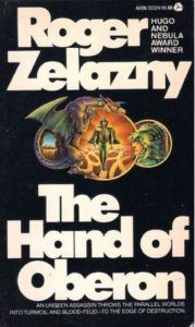 There was an interview with Starlin and they asked who were his influences, he said Shakespeare for the dramatic and flowery prose and <strong>Roger Zelazny</strong> for capturing poetic language. There was no <em>Google</em> in those days, so it was a chance encounter at a garage sale where I bought <strong>The Hand Of Oberon</strong> and met <em>Corey Amber</em> and also got to learn of <strong>Theodore Sturgeon</strong> who had the strangest ideas I ever encountered in <em>Not Without Sorcery</em> and<em> Caviar</em> where I met changelings and Microcosmic Gods.