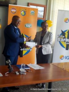 In addition as part of the celebrations and beyond, from this coming Monday for the next six weeks, the Barbados Lottery will offer patrons the opportunity to have a Bajan version of the Megaball.