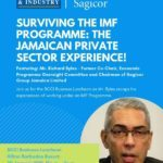 Join Sagicor this Wednesday 30th January 2019 at the Hilton Barbados Resort, to engage in a stimulating discussion on the Jamaican private sector experience in surviving the IMF Programme.