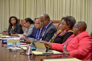 CARICOM Heads met by video conference from 3.30 yesterday afternoon for about seven hours.