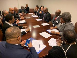 The CARICOM delegation expressed its grave concern over the untenable situation in Venezuela. The delegation strongly urged that further deterioration would seriously aggravate the plight of Venezuelans. The Caribbean Community is steadfast that the region must remain a Zone of Peace.