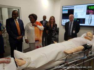 The brand-new LESC medical training facility comprises of a living anatomy lab, a digital anatomy and medical imaging lab, as well as a lab with a revolutionary SimMan 3G patient simulator.