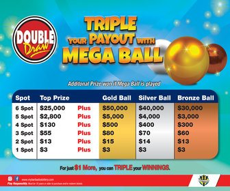 My Barbados Lottery - Mega Ball 336x280