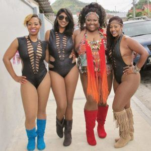 The movement challenges public perception and insensitivity regarding curvier masqueraders