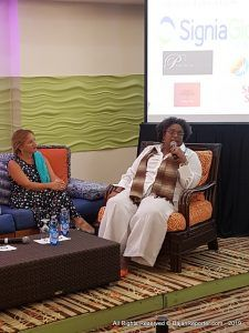 Special Guest? Rt, Hon. 8th Prime Minister (and 1st female PM) of Barbados - Mia Amor Mottley (CLICK FOR BIGGER)