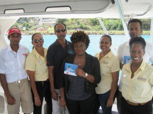 Coral Restoration Project Partner Representatives at the Special Coral Dive Launch
