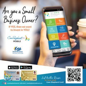 (CLICK FOR BIGGER) Additionally, you can now download the New Cave Shepherd Card Mobile App and enjoy easy access to your account and more On The Go! Available now in the Google Play and Apple App Stores.