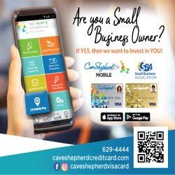 Cave Shepherd Card Mobile App