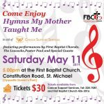 Tickets are only $30.00 available at Cancer Support Services (228-7081) or First Baptist Church (426-2016)!