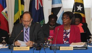 Chair of the CARICOM Council of Ministers for Trade and Economic Development, Barbados' Jr Minister in the Ministry of Foreign Trade<strong> Sandra Husbands</strong>, speaking on behalf of the Council, welcomed the report from the working group and its recommendations, and called on the industry and governments to continue working together to realise the full potential of the industry.