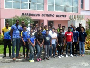 Participants of the inaugural Barbados Athletes' Forum.