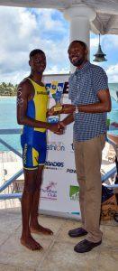 1st place male Niel Skinner sprint