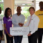 BVHS PwC donation