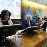 Director of PAHO Dr Carissa Etienne addressing CARICOM Health Ministers at recent COHSOD Meeting in Washington DC