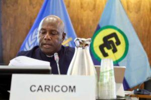 Dr. Rudolph Cummings CARICOM Programme Manager Health Sector Development