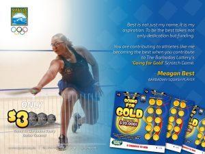 Meagan Best Endorsement Going For Gold