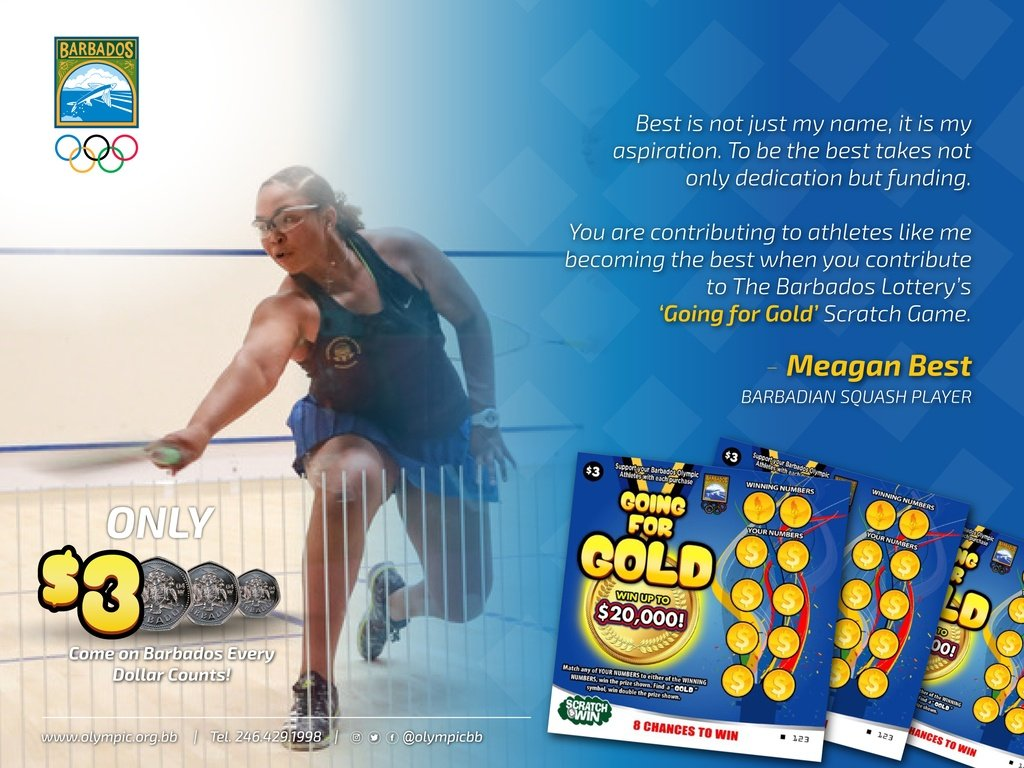Meagan Best Endorsement Going For Gold