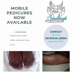 Amethyst Pedicure 120