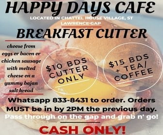 Breakfast Cutter Happy Days