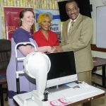 Recently, the QEH's Ophthalmology Department received a Pentacam Tomography Machine funded by CIBC FirstCaribbean International Bank on behalf of Keratoconus Barbados, a patient support and advocacy group, aimed at promoting awareness as well as raising funds to improve the island's capacity to diagnose and treat the condition.