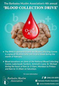 Muslime Brotherhood Assoc. - Blood Drive