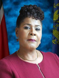 Her Excellency Paula Mae Weekes O.R.T.T1