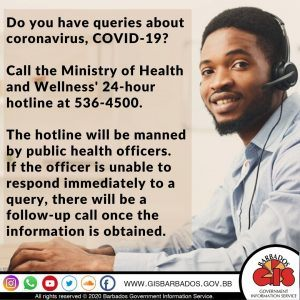 CALL THE HOTLINE WHEN IN DOUBT! 246-536-4500