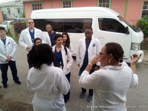 Associate Dean of Medical Sciences. <strong>Dr Rhonda McIntyre</strong> says the event is the first in a series of outreach clinics in local community across Barbados.
