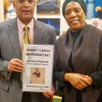 Don Victor Mooney with Gwendolyn Bailey-Strand