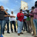 She had toured areas near the City of Bridgetown, Speightstown in St Peter, and a few other rural areas this week.