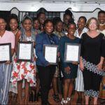 Ambassador Linda Taglialatela and graduates from the AWE Program 2019