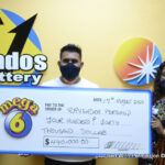 "When asked why he chose a quick pick, Mr. Persaud quietly stated ""Even though I've been playing with The Barbados Lottery for close to nine years, I'm still not very good at choosing numbers, so I preferred to choose a quick pick."" He also stated that he likes to play Super Lotto, Double Draw and scratch games from which he has had a few small wins. ""But Mega 6 is my favourite and I'm excited about the win,"" he replied."