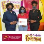 """Samantha Suttle, CIBC FirstCaribbean's Marketing Manager, Barbados Operating Company, said """"CIBC FirstCaribbean is especially happy again to partner with the Chefette Fun Run Charity and the charities it supports. Despite Covid-19 leading to the cancellation of the run this year, we feel it is crucial that we still offer the same level of support, as the work of those charities are even more vital now in these very challenging times."""""""