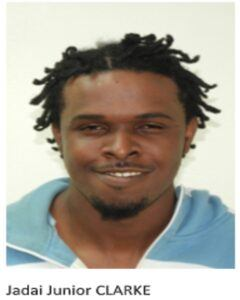 3. <strong>Jadai Junior Clarke</strong>, 25 years, of School Lane, Halls Road St. Michael who is charged that he at the parish of Saint Michael within the jurisdiction of the Magistrate of District 'A' on the 9th day of August 2020 committed the following offences: