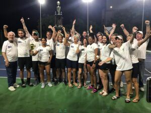 Windward's tennis team ended their undefeated season on Sunday August 23rd, when they were victorious over Ocean View Tennis Club. Playing at the National Tennis Centre under sunny skies...