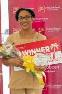 """This is just one of the many stories of selflessness that have emerged. Over in Antigua, Nurse <strong>Soria Dupie-Winston</strong> has been dubbed an """"<em>Angel</em>"""" by one of her nominees, for her professional role and work in the community."""