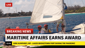 Minister of Maritime Affairs and the Blue Economy <strong>Kirk Humphrey</strong> said he's proud the team at <strong>Barbados Port Incorporated</strong> all made sure to play their part. Mr Humphrey emphasised all efforts were not to seek rewards but to help everyone in the height of the pandemic in addition to attending to the needs of other Barbadians on board as well.