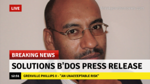 <b>Grenville Phillips II</b> is a Chartered Structural Engineer, and the Solutions Barbados' candidate for St George North.  He can be reached at <i>NextParty246@gmail.com</i>