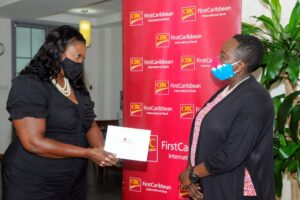 """""""<em>At present we have some people who are in urgent need of help including one pregnant lady and another who has just delivered a baby and they are in dire need of food and baby clothing. The foundation expresses its sincere thanks to CIBC FirstCaribbean for this support during this unforeseen crisis</em>,"""" <strong>Dr. Olivia Smith</strong>, Executive Director of the foundation said as she accepted the donation from the bank."""