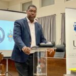 Their Attorney General, Dwight Horsford, had a very thought-provoking and sobering lecture where, amidst his many worthwhile points, he kept a constant refrain that Social Security must be prudently managed because it is the people's money.