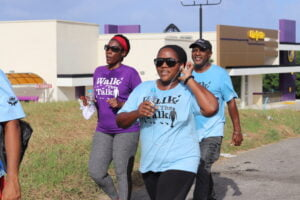 """Barbadians can join in on the virtual walk through the Facebook and Instagram pages of the Red Foundation at @redfoundationbarbados and are encouraged to give generously through www.kellmart.com, via the GOFundMe page set up in the name """"Red Foundation"""", or the Red Foundation account at Republic Bank. Wiltshire added that there will are also be barrels set up at Emerald City, Carlton & A1 and Massy Stores so supporters can donate food items for needy families."""