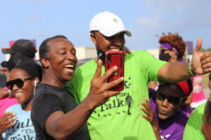 The roll call of famous faces on the road with RPB included Minister John King, Minister Indar Weir, MP Ralph Thorne, MP Dr. Sonia Browne, Admiral Nelson, Mac Fingall, 2 Mile Hill, Blood, Adrian Clarke, Aja, Stephen Lashley, Teshia Hinds, Cassandra Crawford and Shane Sealy from Morning Barbados, D2 and many more.