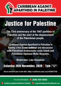 Caribbean Against Apartheid in Palestine