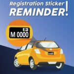 Registration Sticker reminder